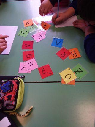 composizione di parole in classe seconda