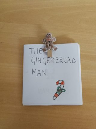 the gingerbread man in classe seconda