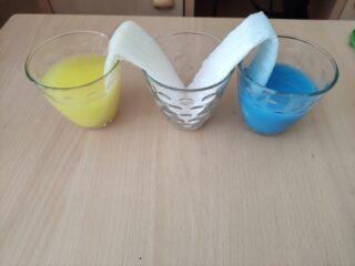 esperimenti scientifici su aria e acqua